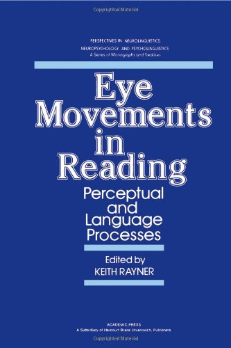 Eye Movements in Reading: Perceptual and Language Processes (Perspectives in neurolinguistics, neuropsychology, and psycholinguistics)