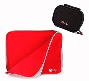 Schutzhüllen Set für Tischtennis - Schläger (rote Hülle) und Bälle (schwarze...
