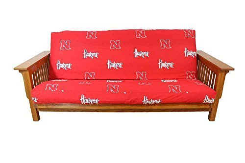 Nebraska Futon Cover by College Covers