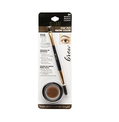 Milani Stay Put Brow Color, 04 Brunette (Pack of 2)