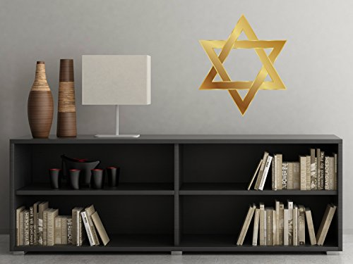 Star David Fabric Wall Decal