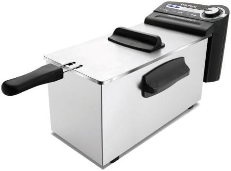 Taurus Professional 2 - Freidora professional, 1700 W, capacidad de 2 l, regulador de temperatura, Negro/Plata: Taurus: Amazon.es: Hogar
