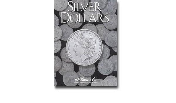 H.E Harris Coin Folder # 2665 Silver Dollars plain no dates
