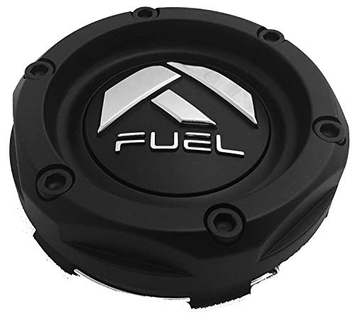 Fuel Offroad Matte Black Wheel Center Cap (Qty 1) # - Black Road Off Wheels