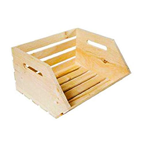 GMI Veggie Stackable Wood Crates-2 pk by GMI