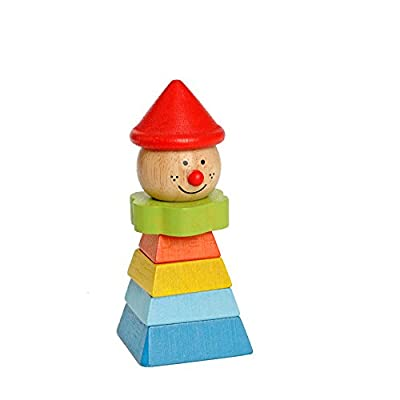 EverEarth Stacking Clown - Red Hat EE33268: Toys & Games