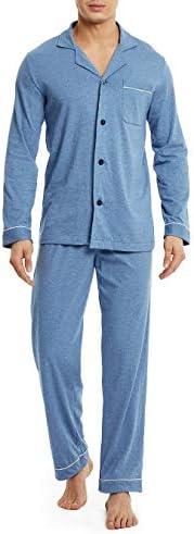 David Archy Cotton Button Down Sleepwear