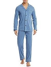 Mens Jockey Luxury Striped Cotton Long Pyjama Sleepwear Nightwear  S 4XL
