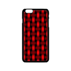 Bright red braiding pattern Phone Case for iPhone 6