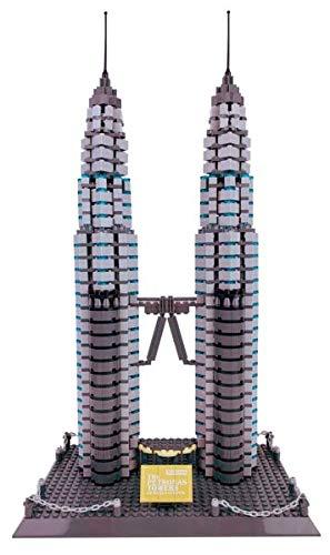 Happy Town Toys The Petronas Towers of Kuala Lumpur ()