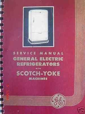 1934-42 ge refrigerator monitor top repair manual vol.2 (ck machines  included): general electric technical services: amazon.com: books  amazon.com