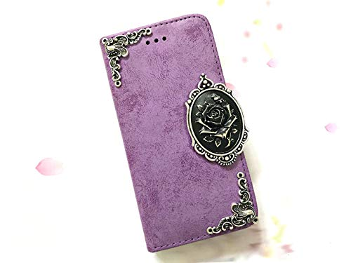 - Rose Removable Wallet Handmade Phone Wallet Case Cover for Iphone X Xs Xr Xs Max Iphone 8 7 6 6s Plus Samsung Galaxy S7 Edge Galaxy S8 S9 S10 Plus Note 8 Note 9 Mn0621