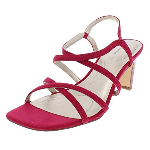 Bandolino Women's OBEXX Heeled Sandal, Raspberry, 5 M US