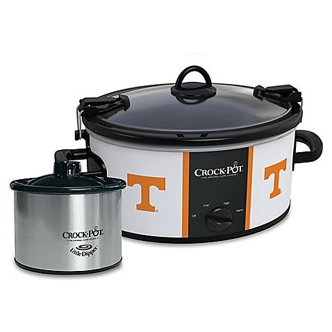University of Tennessee Slow Cooker with Little Dipper Warmer