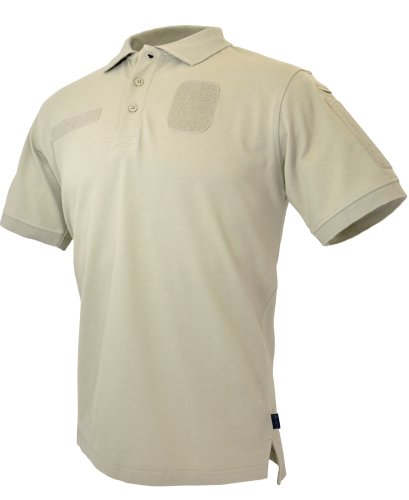 Hazard 4 Loaded Battle Polo Tactical Arm/Chest Velcro Patch, Tan, X-Large ()