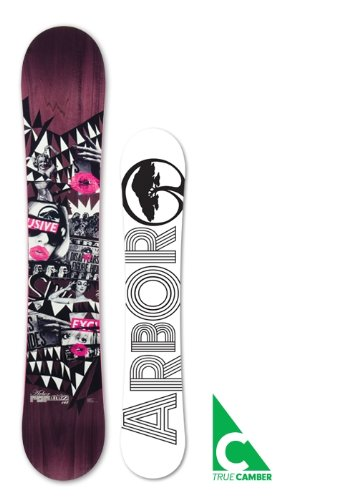 Arbor Collective Womens Snowboard POPARAZZI - Stance Arbor Snowboard