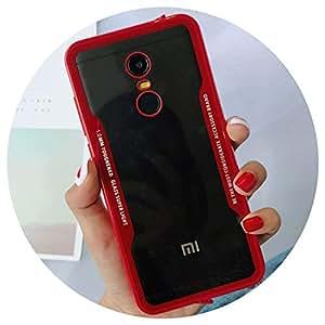 Amazon.com: Plexiglass Casos para Xiaomi Mi A1 A2 Mix 2S Mi8 ...