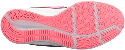 Nike Girls' Downshifter 7 (PSV) Running Shoe Gunsmoke/Sunset Pulse - Atmosphere Grey 10.5 M US Little Kid by Nike (Image #3)