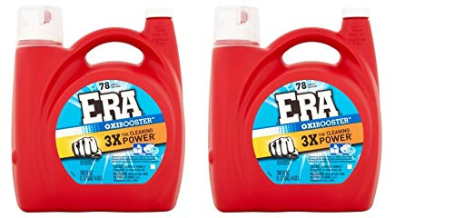 Era Oxibooster Liquid Laundry Detergent, 78 Loads 150 fl oz (2)