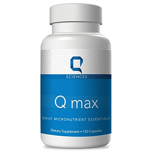 Q Max - Best Cognitive Enhancer Micronutrients for Mental Clarity, Mental Focus | Brain Boost | Brain Balance | Memory Pills | Nootropic Brain Supplement Multivitamin Mood Stabilizer - 120 Capsules