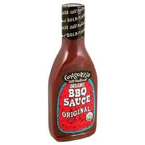 Consorzio Organic BBQ Sauce, Original, 12.2-Ounce Bottles (Pack of 6)