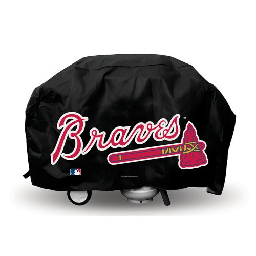 (Rico Industries Atlanta Braves Deluxe Grill Cover)