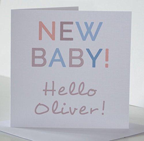Newborn baby boy card personalised new baby boy card with name new newborn baby boy card personalised new baby boy card with name new born baby m4hsunfo