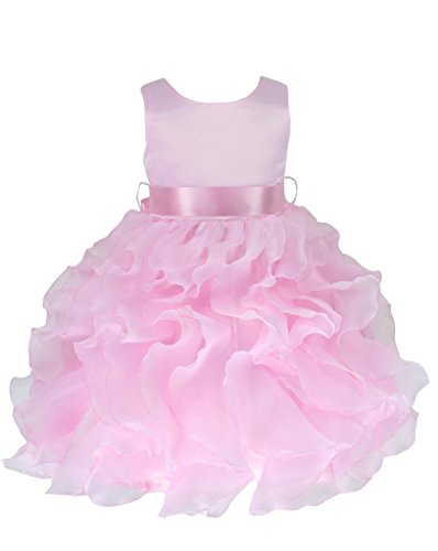 Satin & Organza Occasion Baby Girl Infant Pageant Christe...