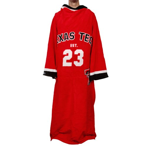 Fabrique Innovations NCAA Texas Tech Red Raiders Uniform Snuggie, Large, - Tech Snuggie Texas