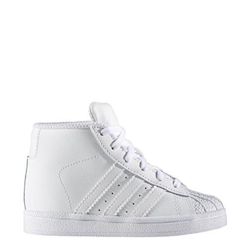 adidas Originals Baby Pro Model Inf Sneaker, Ftwr White, Ftwr White, Ftwr White, 8K M US - Apparel Outlet Running