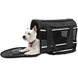 SportPet Designs Travel Soft-Sided Pet Carrier, Airline Approved