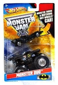 HOT WHEELS MONSTER JAM MONSTER DUO AVENGER TRUCK ***BRAND