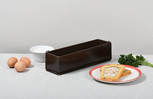Paderno World Cuisine 11.875 by 3.125 Inch Non-Stick Pate Mold with Removable Bottom by Paderno World Cuisine (Image #2)