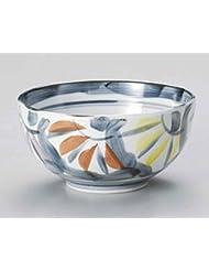 Chrysanthemum 6 1inch Set Of 10 Ramen Bowls White Porcelain Made In Japan