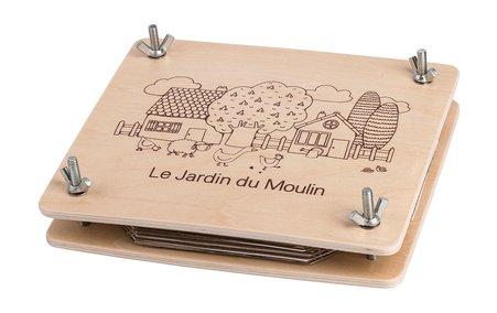 Moulin Roty Le Jardin Flower Press by Moulin Roty