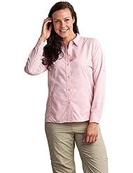 ExOfficio Womens Bugsaway Viento Long Sleeve Shirt