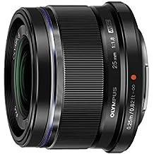 Olympus M.Zuiko 25mm f1.8 Interchangeable Lens (Black)