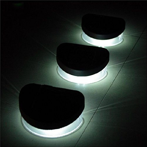 Generic-Pack-of-6-2-LED-Solar-Lights-Wall-Stair-Parapet-Walkway-Outdoor-Lamp