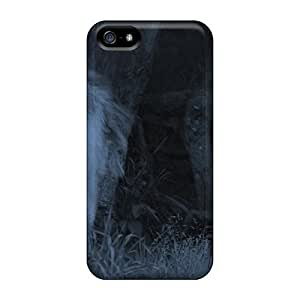 Defender Case With Nice Appearance (dark Night Wolves) For Iphone 5/5s