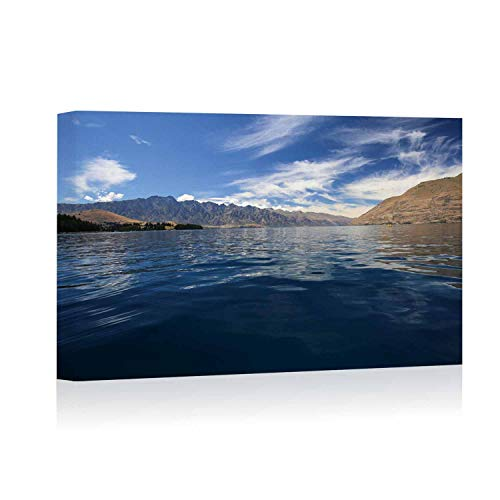 Actorstion Kayaking in New Zealand Canvas Art Wall Decor,127492 for Modern Home Decor Stretched and Framed Ready to Hang,16