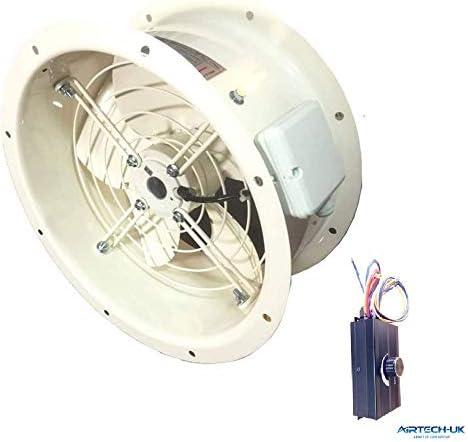 Airtech comercial Axial ventilador Extractor con ventosa toldo de ...