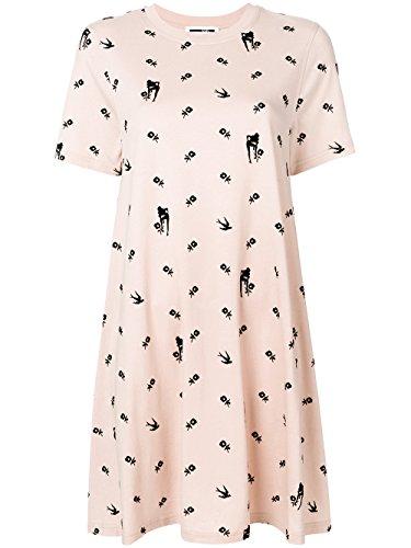 MCQ Alexander McQueen Women's 401641Rkh495517 Pink Cotton Dress - Alexander Mcqueen Women Dresses