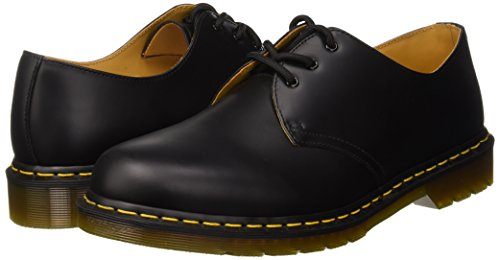 Sm Noir Dmc Adulte Dr Mixte Martens 1461z Smooth black Derby b nwTx81CxH