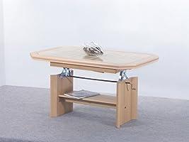 Mesa de mijo Haya 115 (157) X 74 X 54 cm Extensible Altura ...