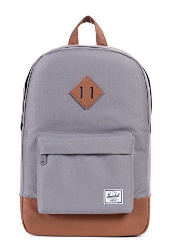Herschel Supply Co. Heritage Mid Volume, Grey, One Size