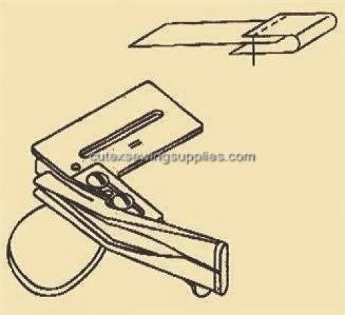 Cutex Sewing Machine Raw Edge Plain Tape Binder Binding Attachment 7//8