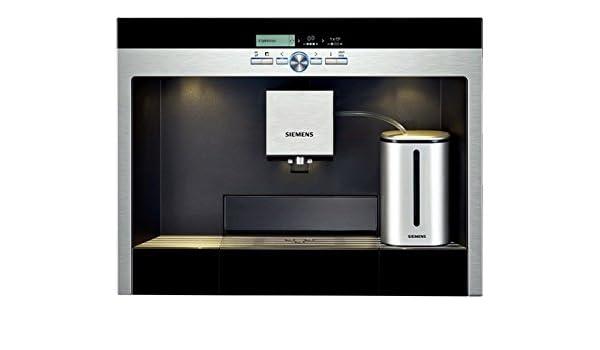 Siemens - Cafetera Expresso Encastre Partner Tk76K573, Molinillo ...