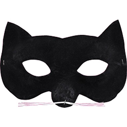 Disguise Costumes Velvet Cat Eye Mask, Adult