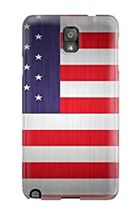 CaseyKBrown NGiSEWH9237yNJaL Case Cover Galaxy Note 3 Protective Case Flag Of Usa