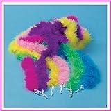 Mini Marabou feather BOA - kids dress up party BOAS - 12 pc assortment